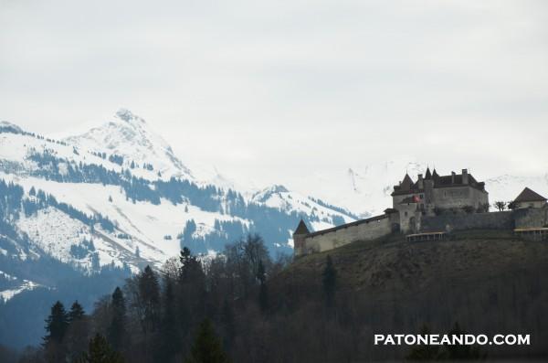 Un pueblo con sabor en sus paisajes Gruyeres, suiza