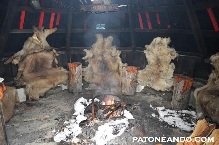 Una tienda típica sami