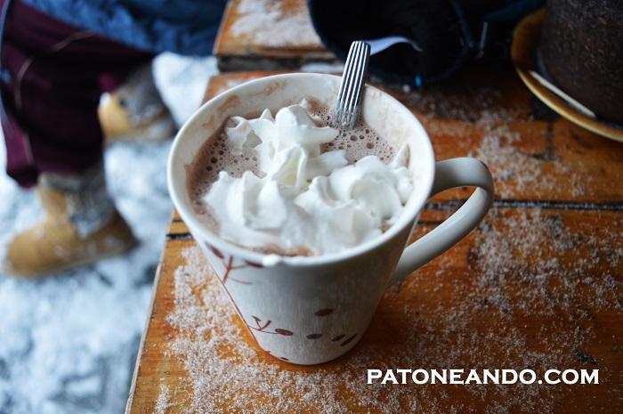 """Los horarios eran muy flexibles, incluso había tiempo para una pausa """"chocolate caliente"""""""