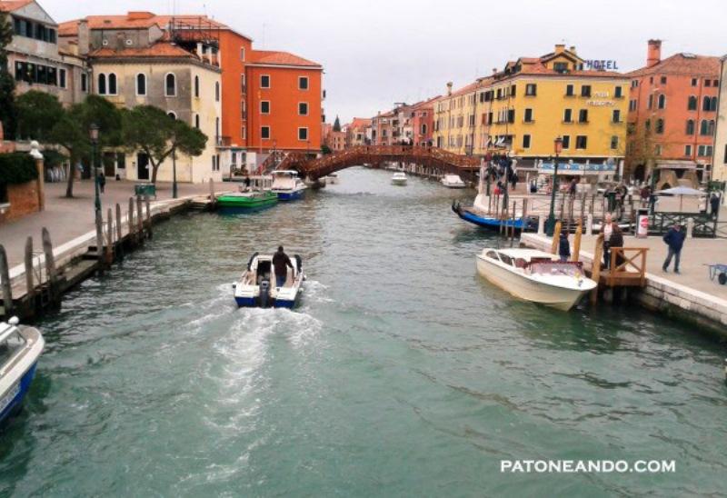 Esta fue mi primera vista de Venecia