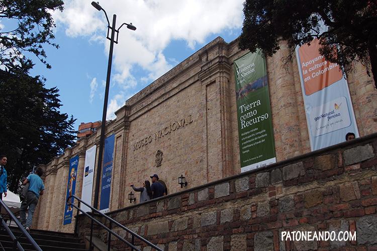 Fachada del Museo Nacional