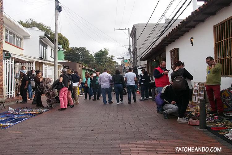 Los domingos en las calles de Usaquén - que hacer y que ver en Bogotá - Patoneando blog de viajes