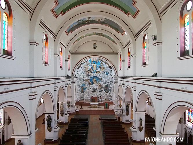 Iglesia de Chaparral Tolima - Patoneando blog de viajes