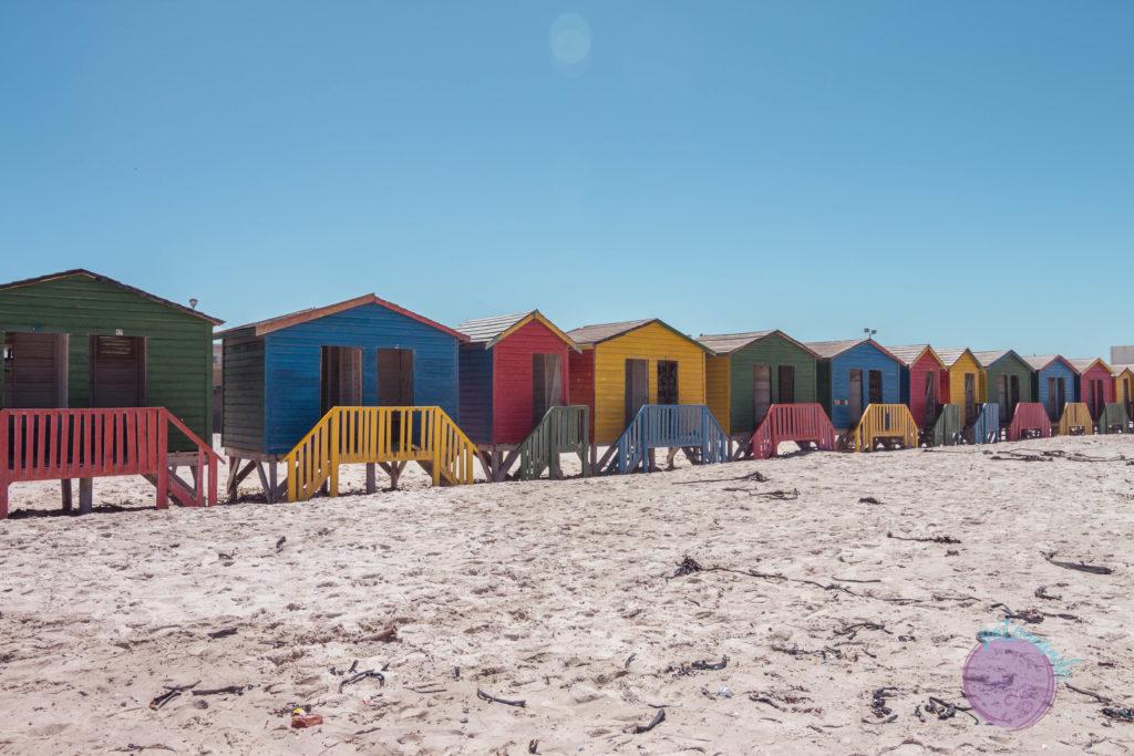 Que ver en ciudad del cabo - guia - Muizenberg beach - Patoneando blog de viajes