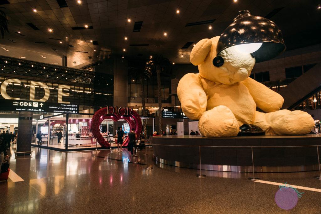 Que hacer durante una escala en Doha, Qatar - aeropuerto de doha - - - Patoneando blog de viajes