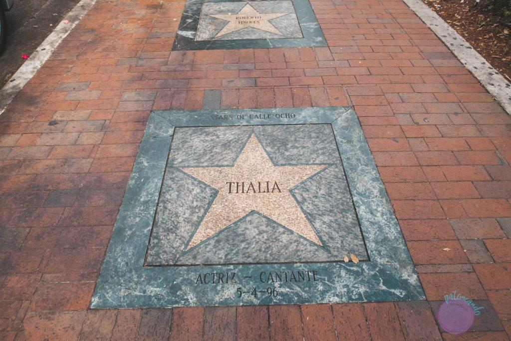 que hacer durante una escala en Miami - Calle ocho miami barrio cubano - Patoneando blog de viajes