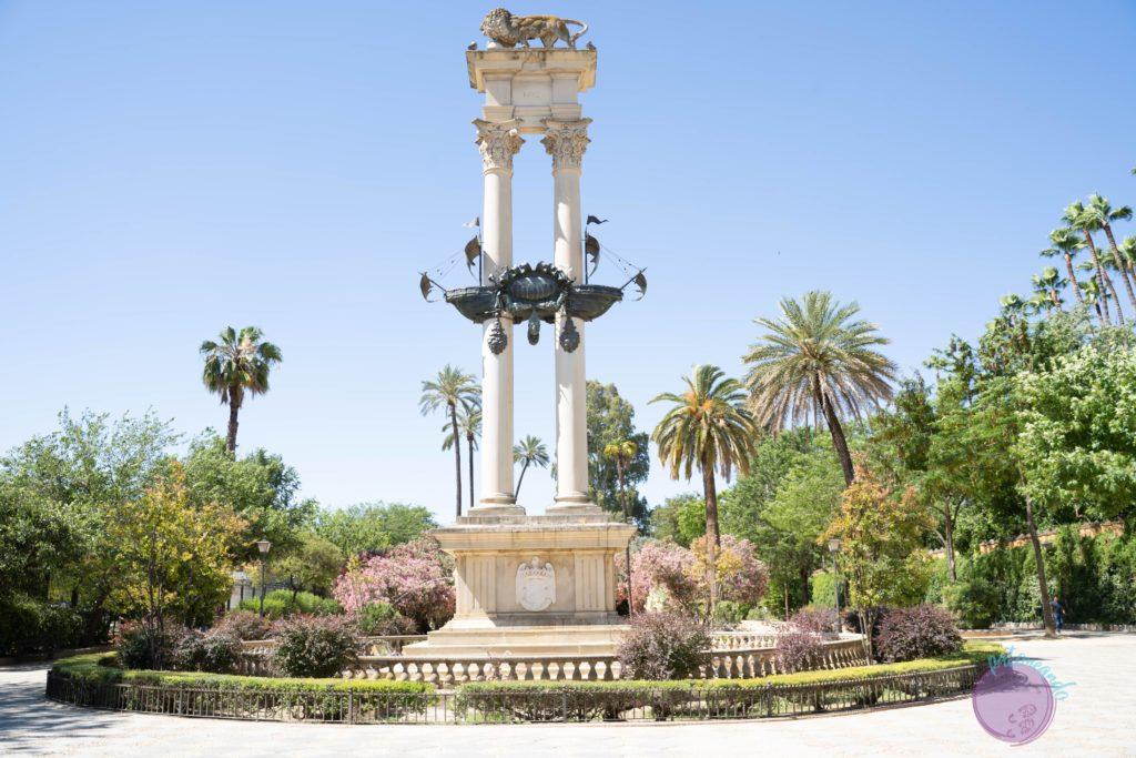 cosas que hacer en sevilla -los jardines de Murillo - Patoneando blog de viajes